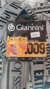 Corda Violão Aço 009- Giannini R$ 35,00