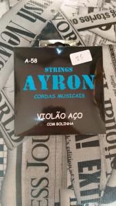 Corda Violão Aço - Ayron R$ 25,00