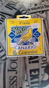 Corda Viola - Canário Giannini R$ 22,00