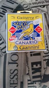 Corda Guitarra - Canário Giannini R$ 22,00