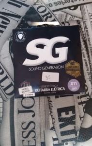 Corda Guitarra - SG R$ 35,00