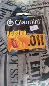 Corda Violão Aço 011 - Giannini R$ 35,00